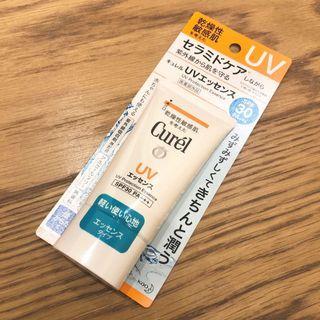 Curel珂潤 浸潤保濕輕透水感防曬乳 臉身體用 50g