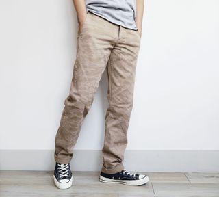 【現貨】Dockers 卡其虎紋迷彩 經典輕彈性男款小直筒 牛仔褲 長褲 休閒褲 工作褲 Levi's副牌
