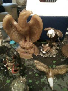 Eagle and native American collection