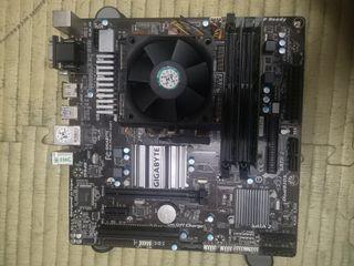 FX4200 四核心電腦 技嘉 主機板 威剛4GB DDR3