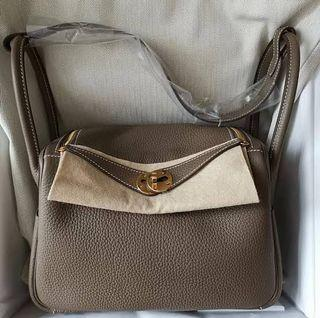 Hermes Lindy Taupe