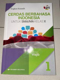 Kelas BAHASA INDONESIA SMA Kelas 10 Texbook (Boleh Nego)