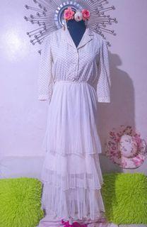 Layered 3/4 dress