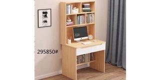 New! Pre -order Home/Office Table with drawer and shelves (Size: 80 x 40 x 161.2 cm) 1 color only