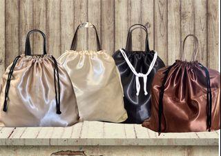 Plain Satin Dust Bag