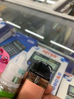 Pode vinci baru beli 1 minggu , catric msh baru belum di isap free liquid