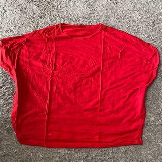 PRELOVED Atasan Kaos Batwing Bigsize