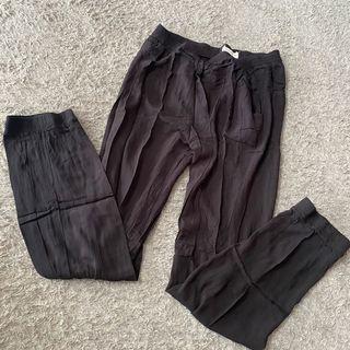 PRELOVED Celana Hitam Jumbo CONNEXION