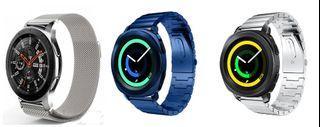 Samsung Galaxy Watch Stainless Steel Band Straps