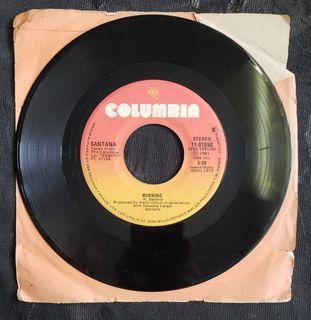 "Santana - Winning (7"" single) vinyl record"