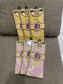 蕾絲隱形襪6雙