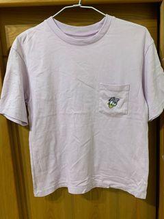 Uniqlo 黛西 迪士尼聯名 Disney 短袖 t  S號 寬版 淺紫色 #集氣