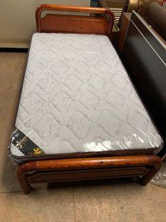 大慶二手家具 庫存3.5尺床墊/床底/床墊/寢具