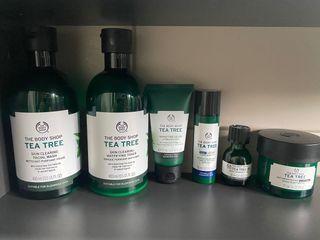 Body Shop Tea Tree Oil Set - Complete Line