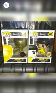 [BUNDLE OF 2] Bruce Lee Funko Pop Bundle