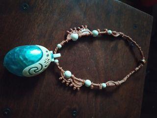 disney moana necklace with light original