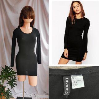 divided h&m dress