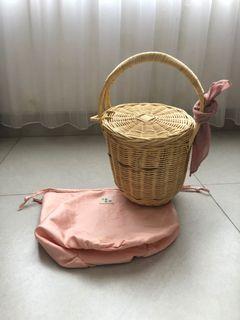 Egon Wicker Picnic Bag | Tas Piknik Keranjang Rottan