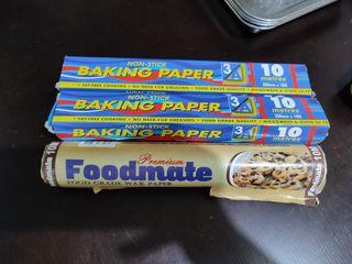 For sale baking paper wax paper