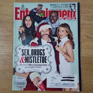 Jennifer Aniston - Entertainment Weekly magazine Dec 2016