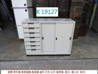 K19127 鋼構 零件櫃 事務機櫃 電器櫃 @ 二手傢俱 ,聯合二手倉庫,搬家二手家具,估價 回收家具,展示櫃 櫃檯,推薦 家具回收