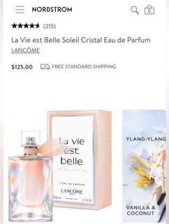 La vie eat belle Soleil Cristal
