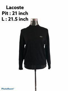 Lacoste Classic Crewneck Knit Black