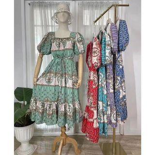 🍒NA midi dress printed 5 co cd71421