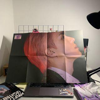 (NEW) Sehun EXO-SC 1 Billion Views Folded Poster