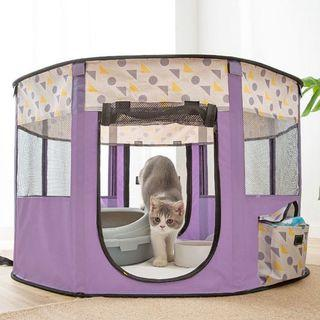 Playpen Portable Foldable Pet Playpen Kennel for Dogs Puppies Cats Rabbit Indoor Outdoor Use Pet Tent Fully Covered 3 Sizes