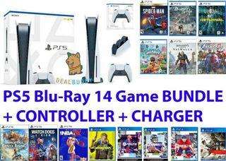 PlayStation 5 disc version with 14 games Free