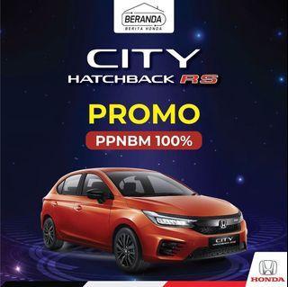 Promo ppnbm 0% City Hatchback ready stock