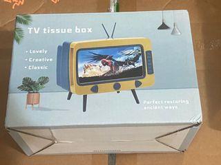 Tv tissue box