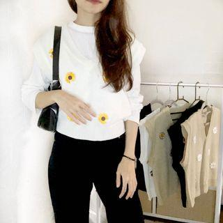 vest daisy kuning