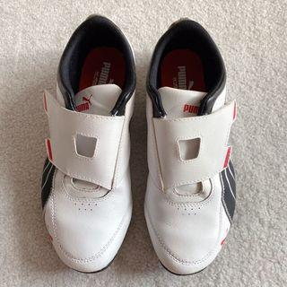vintage velcro puma sneakers running shoes