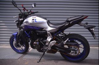 Yamaha MT-07 銀魂街跑