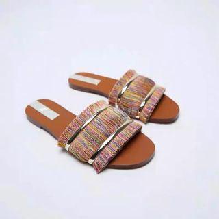 ZARA 212 - Boho Sandals Flat