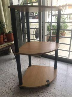 3 tier corner table