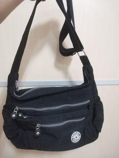 黑色媽媽包/側背包