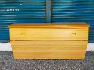 【健利傢俱行】雙人床頭 二人床頭 2人床頭 兩人床頭 二手雙人床頭 二手二人床頭 雙人床頭箱 二人床頭箱 雙人床頭櫃