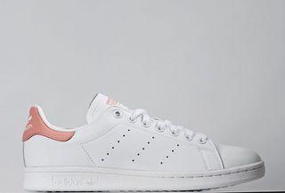 adidas stan smith 櫻花粉白鞋