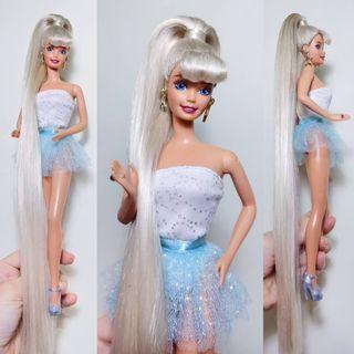 Barbie jewel hair mermaid