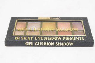 Beauty Treats Gel Cushion Shadow 10 Silky Eyeshadow Pigments