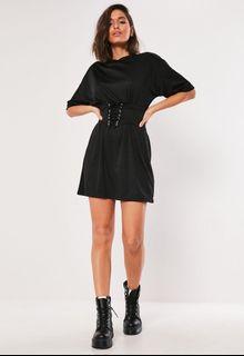 Black Oversized shirt/dress