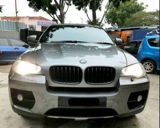 BMW X6 3.0 DIESEL AUTO SAMBUNG BAYAR BERDEPOSIT/CONTUNIE LOAN