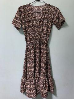 Boho-style Midi Dress
