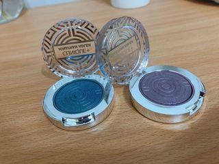 CLINIQUE眼影 藍+紫