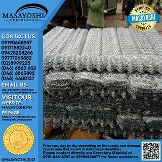 Cyclone Wire 2 x 2 x 2 x 2.7mm x 10m 6ft | Wire Netting | Wire Mesh Fence | Cyclone Fence | Hurricane Fence | Diamond Mesh Fence | Chain Link Fence | Chain Wire Fence