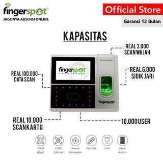 Fingerspot New Hybrid Pro Series Mesin Absensi Wajah
