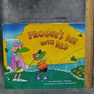 Froggys day with dad